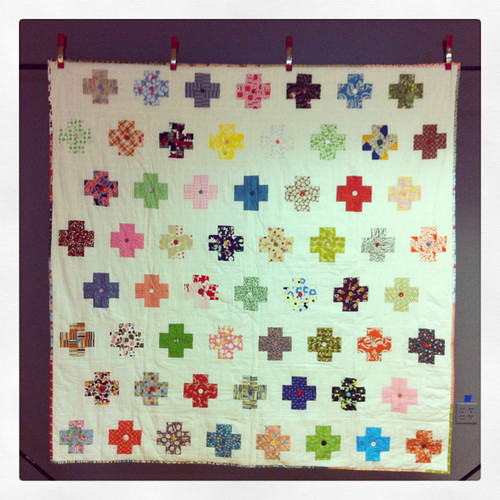 Modern Crosses documented for the Quilt Index!
