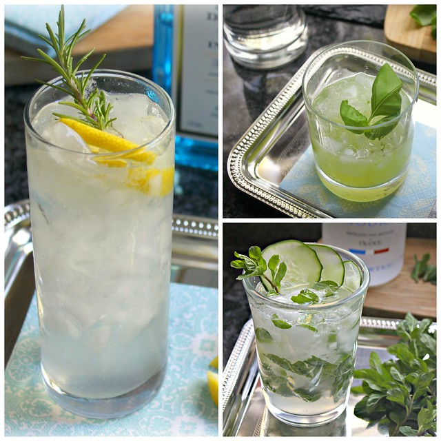 herb drink Collage
