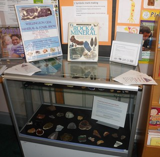 Ruth Gotlieb Library Display Cabinet