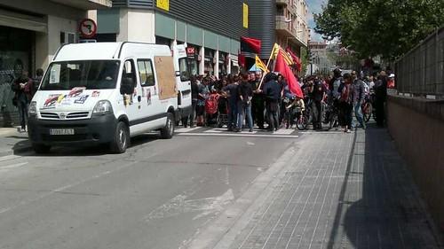 Manifestació 1 maig 2013 a Igualada #1maig2013 #1maigCGT