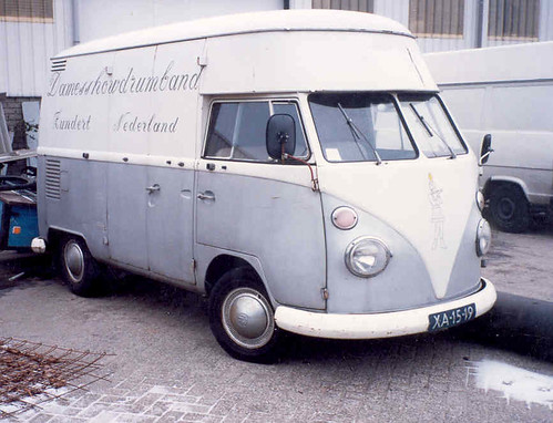 XA-15-19 Volkswagen Transporter Hoogdak 1966