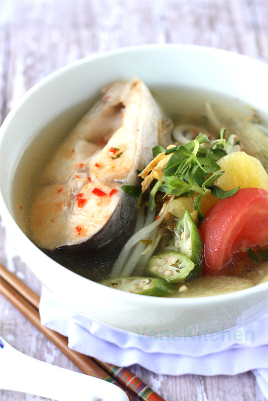 Vietnamese sweet and sour soup