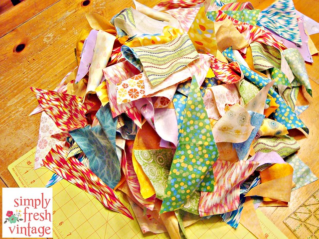 Quick & Easy Bunting ... Step 9