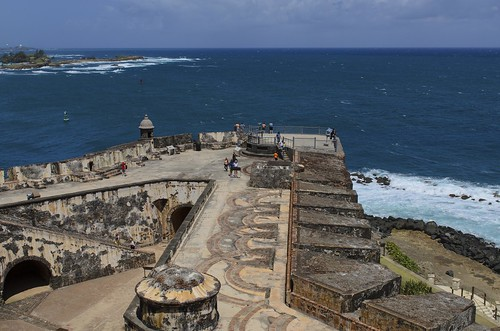 world old heritage del de puerto bay us site san day juan cloudy parks el historic atlantic unesco rico explore national bahia caribbean morro felipe castillo battlements rampart explored nrpad