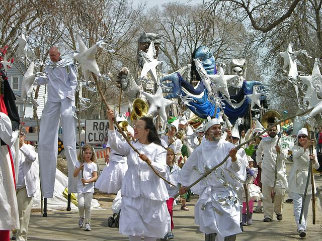 MayDay 2013 parade begins soon