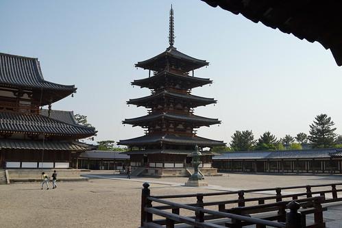 法隆寺・五重塔