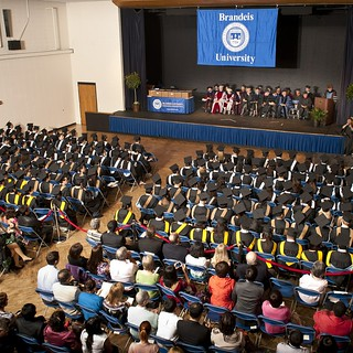 Brandeis IBS commencement