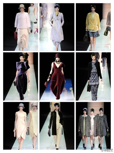 Great Gatsby: Emporio Armani AW 13/14 Womenswear