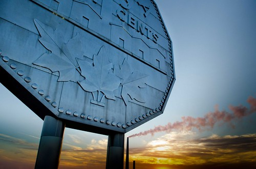 Big Nickel and Stack