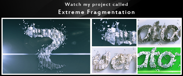 My other  projects extreme fragmantation