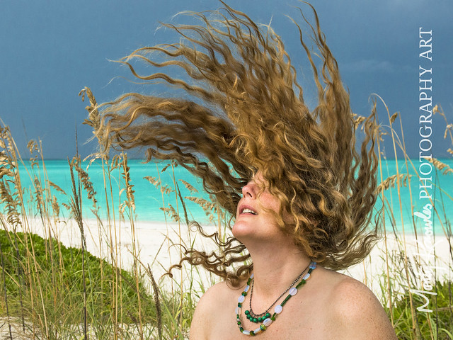 Goddess Kring Model Hair Flip