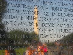 Vietnam Veterans Memorial, October 2, 2010