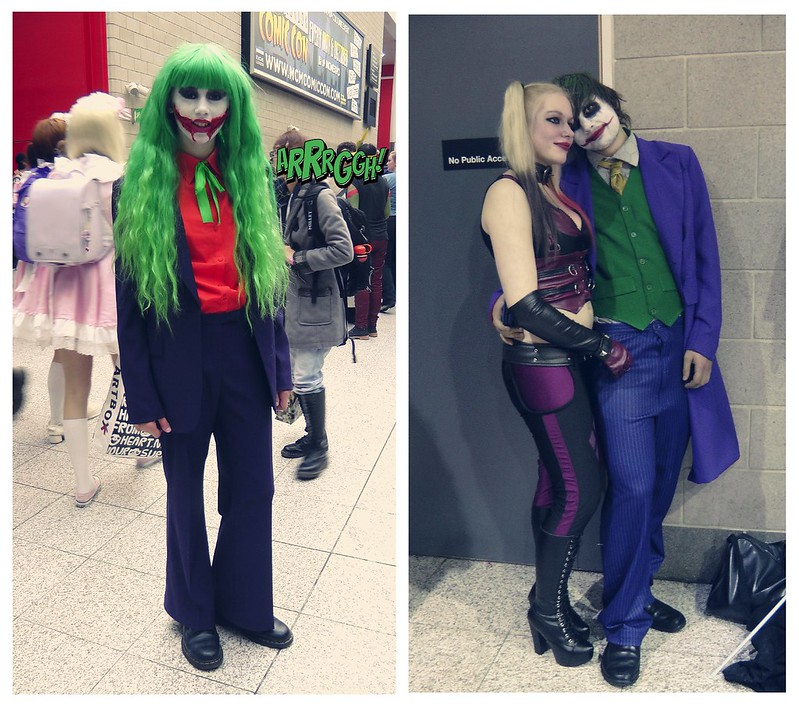 Cosplayers at MCM London Comic Con, part 1