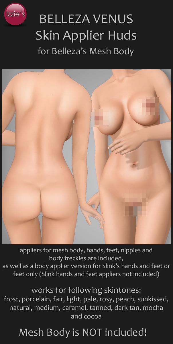 Belleza Venus Skin Appliers