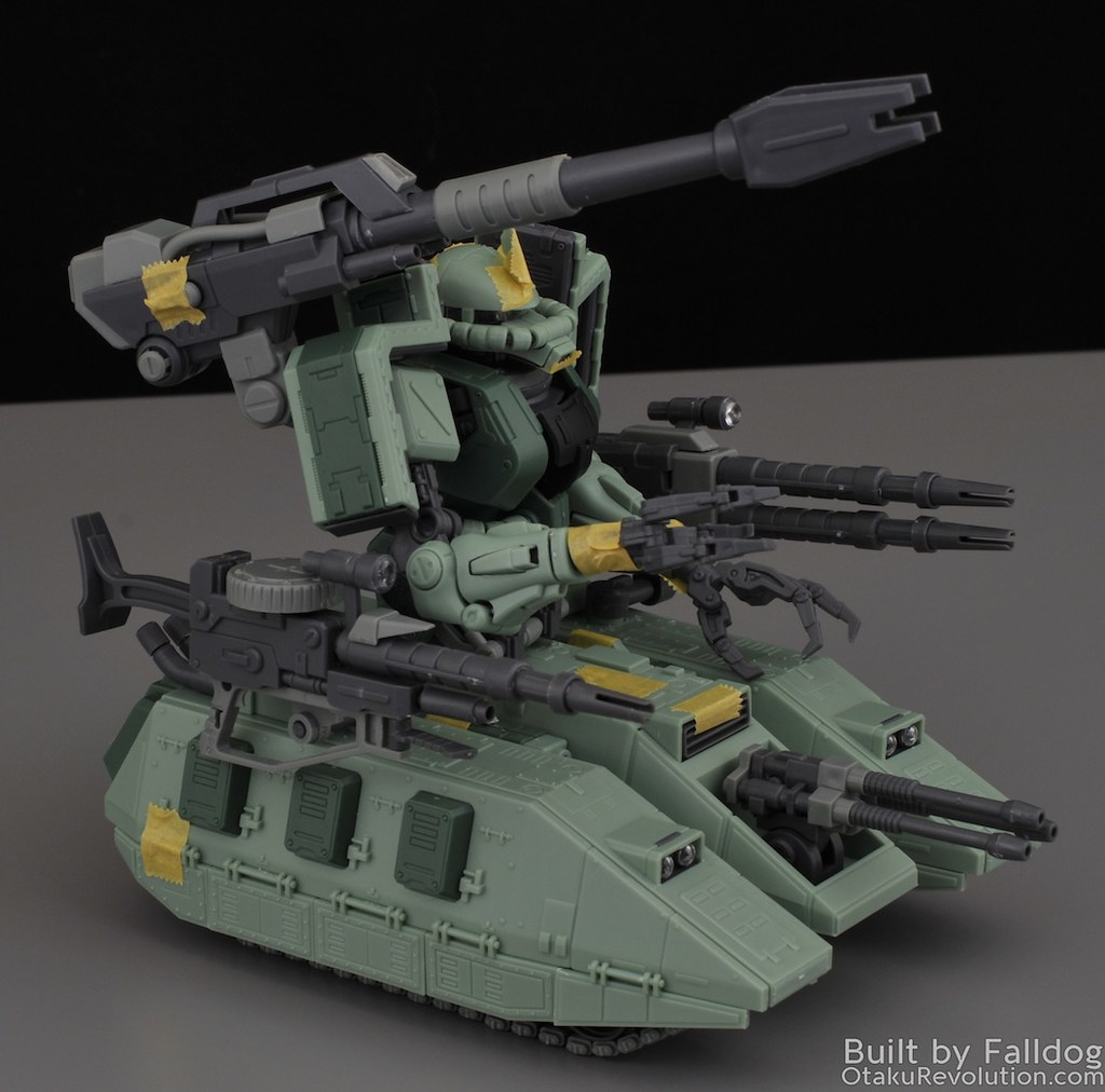 Motor King - 1-100 Zaku Tank Review 9