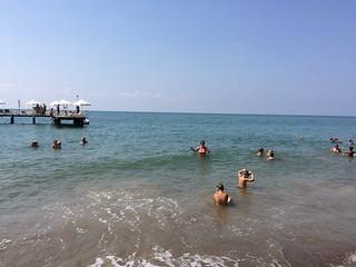 Kumsal 海滩与 686 米的长度 的形象. rixospremiumbelek belek rixos turkey