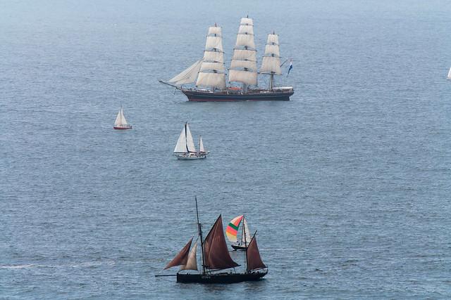 The Holland sailing ship