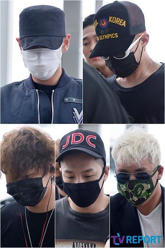 Big Bang - Incheon Airport - 26jun2015 - TV Report - 01