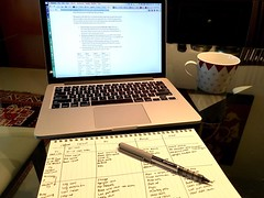 This is how much of a #fitness #nerd I have become. Researching #powerbuilding programs so I can write my own custom program. I\'m actually taking hand written notes. #xxfitness #whengeeksfitness