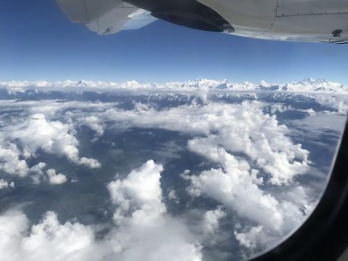 aerial mteverest nepal public