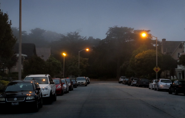 29th avenue at Golden Gate Park; The Sunset, San Francisco (2013)