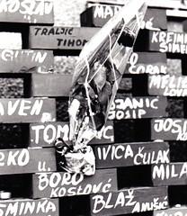 Zagreb UN HQ Wall of Shame