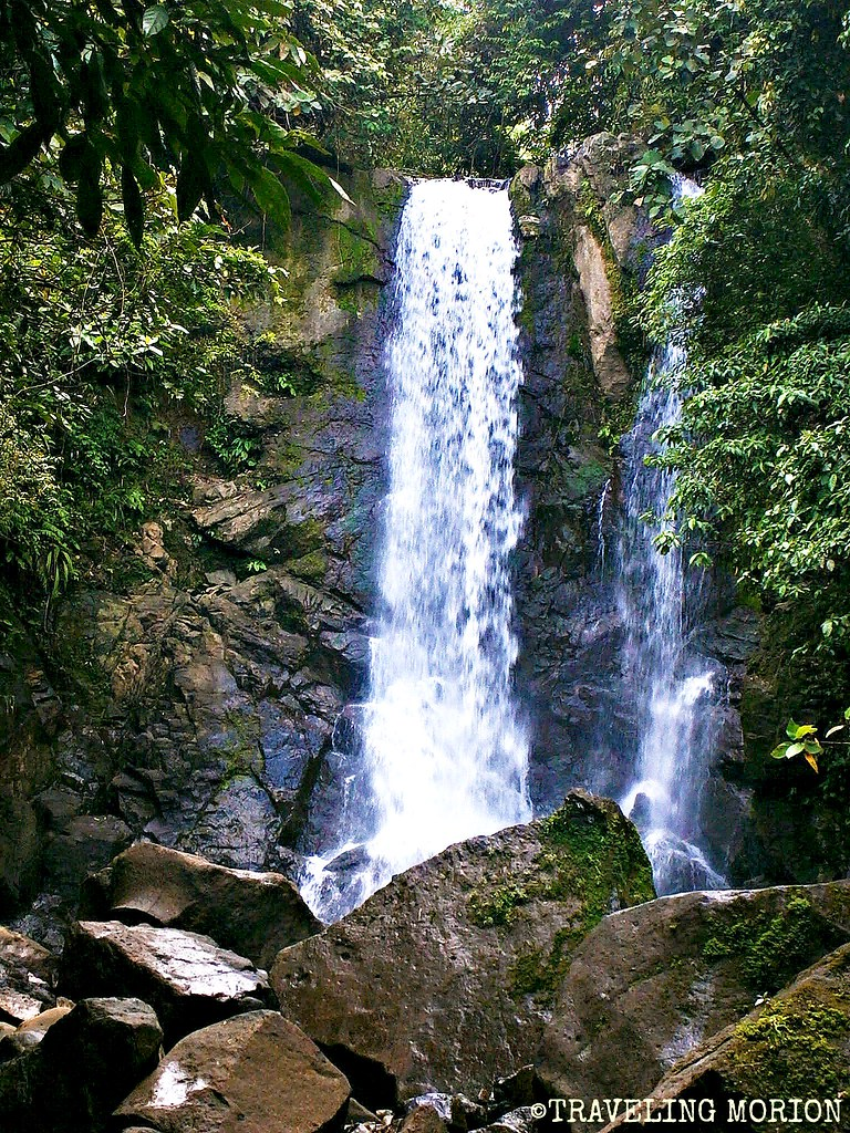 Lumondo Falls in Alegria, Surigao del Norte PHILIPPINES