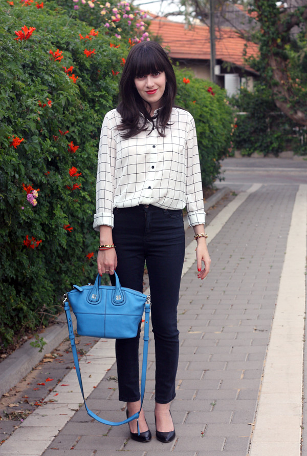 forever21_geometric_blouse_givenchy_bag1