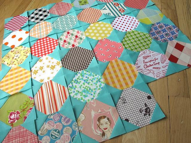 Quilt Patterns Snowball Block : sewtakeahike: Snowball Along!