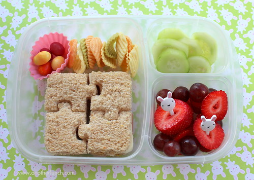 Somebunny I love has Autism - an Autism Awareness Message lunch