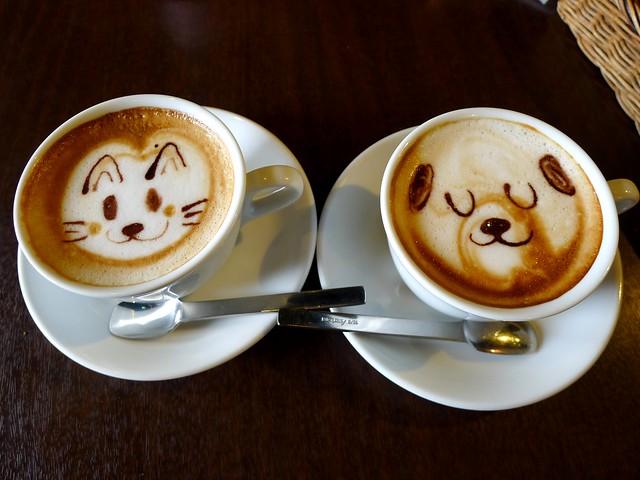 Latte art (ラテ・アート)