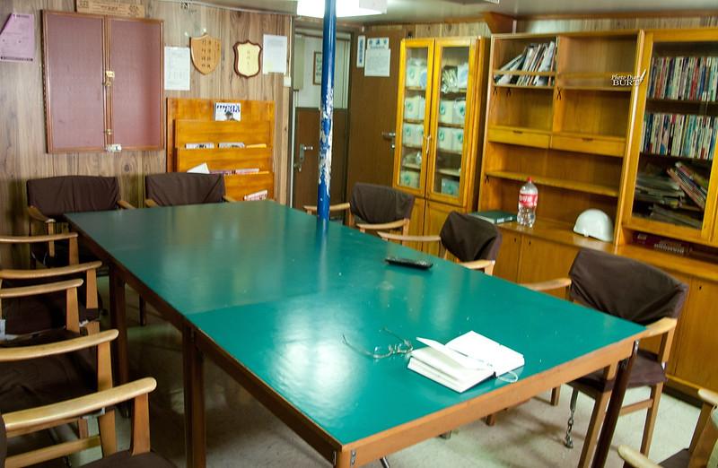 船內的會議室