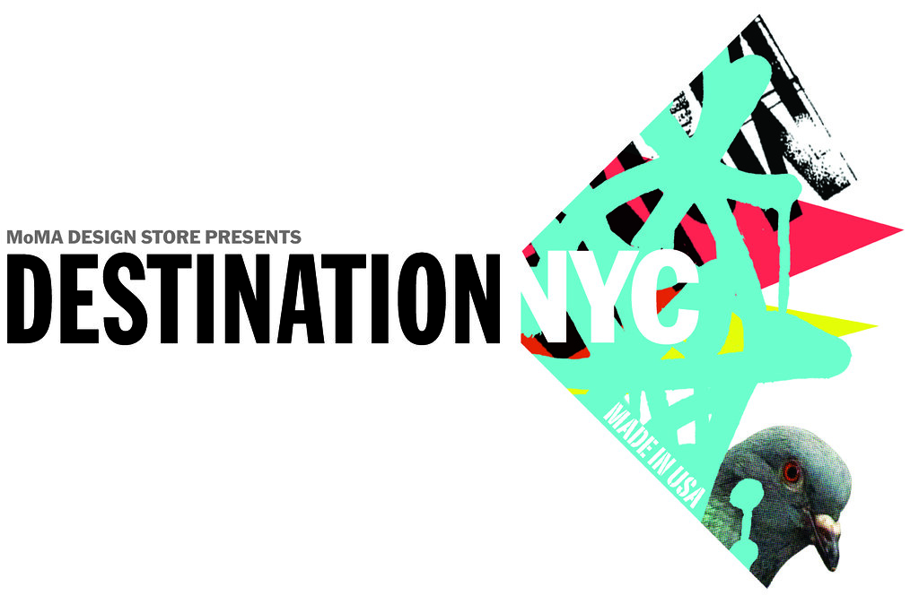 MoMA Design Store Presents Destination NYC
