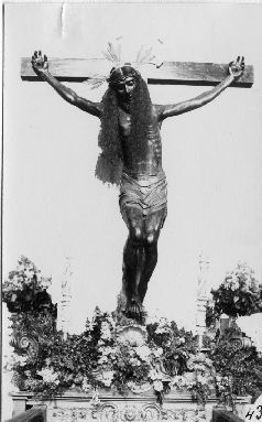 Cristo de las Aguas  © Fondo Rodríguez. Archivo Histórico Provincial. JCCM. Signatura CMC-313
