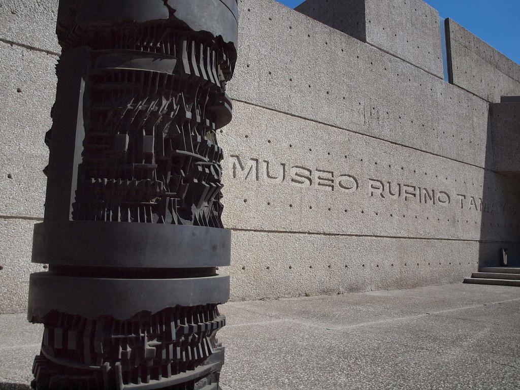 museo rufino tamayo exposiciones:
