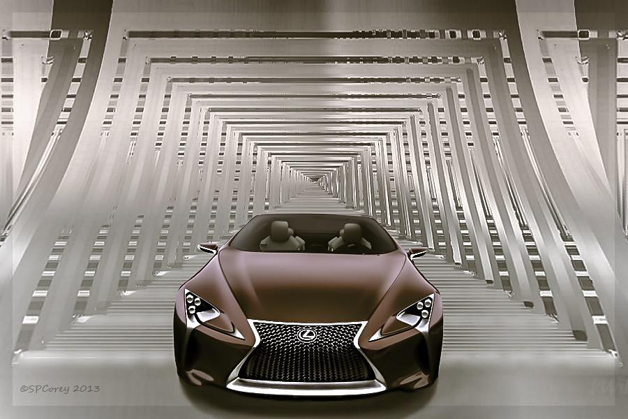 Lexus LF-LC Concept Hybrid