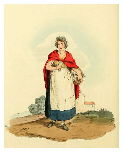 007- Vendedora de fosforos- Picturesque representations of the dress and manners of the English-1813-William Alexander