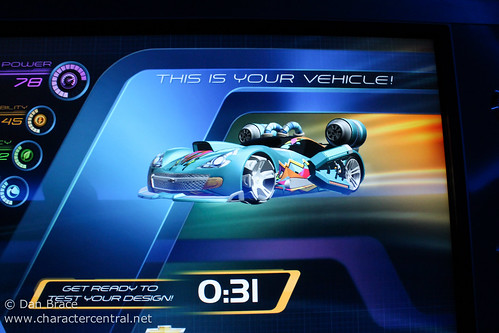 Test Track - our car design