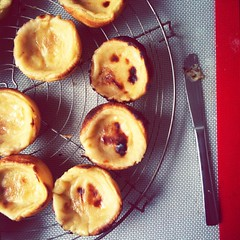 Working on my Pasteis de Nata recipe