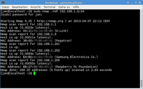 nmap IP-Scan