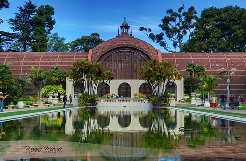 Balboa Park Reflecting Pool – San Diego California by !!WaynePhotoGuy