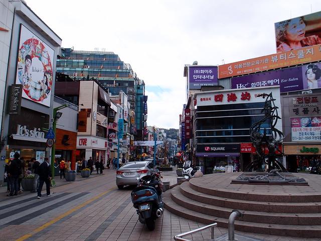 韓國釜山南浦洞