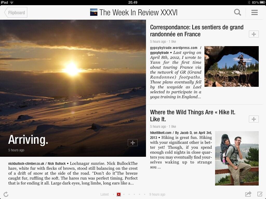 Flipboard TWIR Magazine