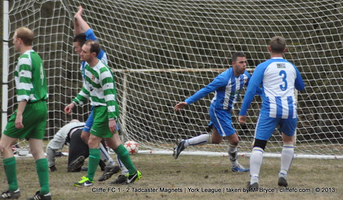 Cliffe FC 1 - 2 Tadcaster Magnets 8Apr13