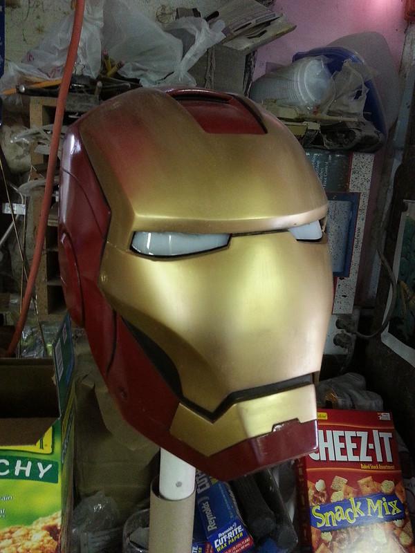 Assembled Helmet