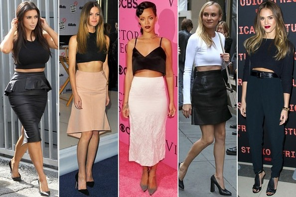 How to wear Crop Tops | FashionCadet