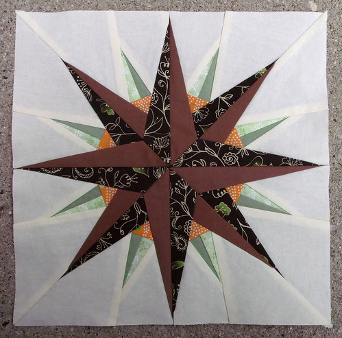 Surveyor's Compass quilt block