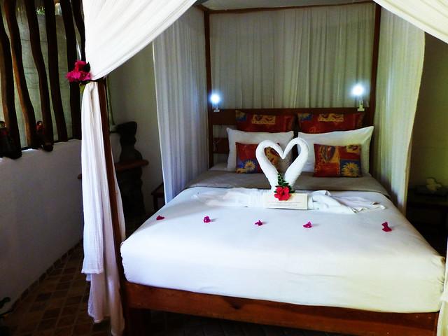 Bedroom at Playa Escondida