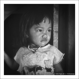 Ifugao girl from Batad, Philippines