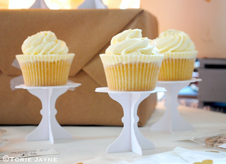 Cupcake stands from Peach Blossom